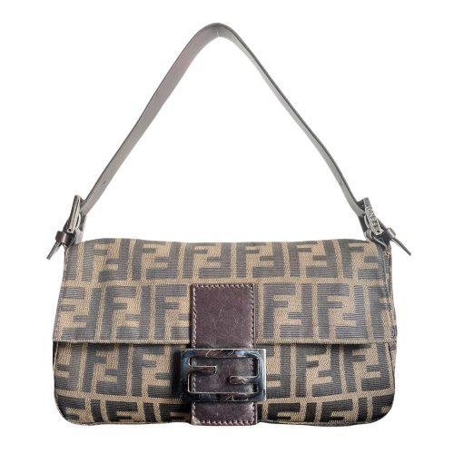 Vintage Fendi Zucca Monogram Baguette Bag | NITRYL