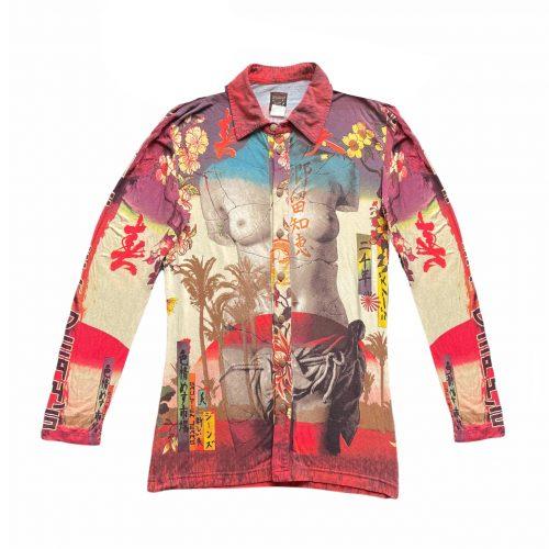 Vintage Jean Paul Gaultier Venus De Milo Shirt UK 10   NITRYL