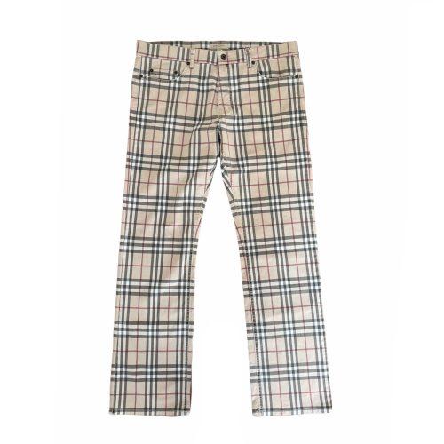 Vintage Burberry Nova Check Mens Jeans Trousers 36R | NITRYL