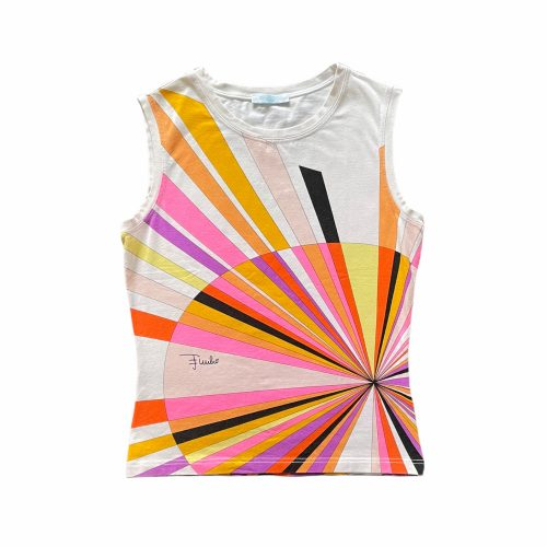 Vintage Emilio Pucci Abstract Vest Top Size XS | NITRYL