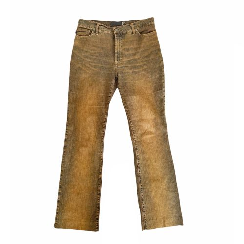 Vintage Cavalli Ombre Straight Leg Jeans in Burnt Orange UK 10 | NITRYL