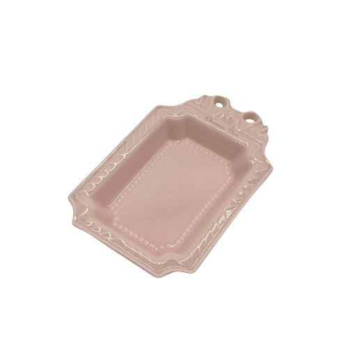 Vintage Dior Ceramic Trinket Dish in Pink | NITRYL